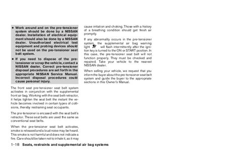 car owners manuals free downloads 2003 nissan xterra parental controls 2003 xterra owner s manual