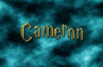 Cameron Logos Text Flamingtext