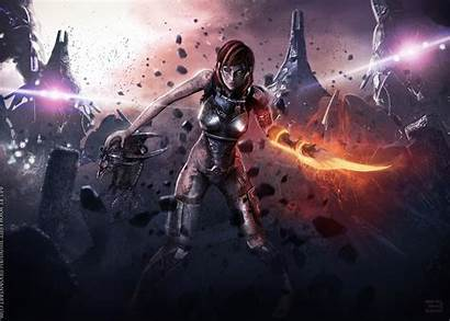 Effect Mass Anime Effects Shepard Special Commander