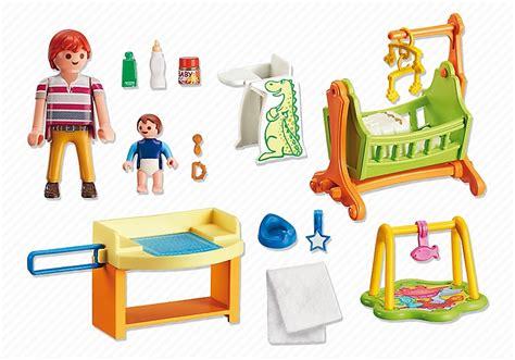 Playmobil Maison 5304  Chambre De Bébé Avec Berceau