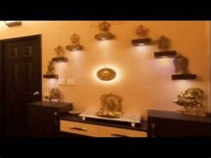 Homzinterio in Pooja Room Home Design Ideas - YouTube
