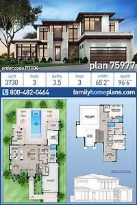 Modern, House, Floor, Plans, 2021