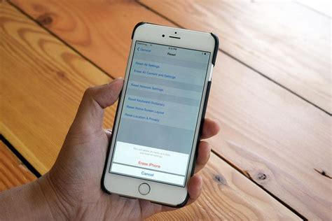 how to reset iphone 5 how to factory reset an iphone every generation