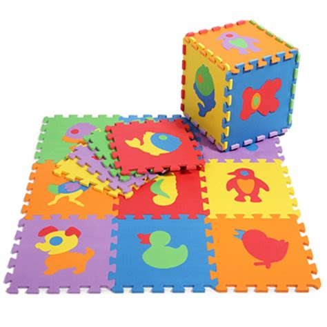 foam play mat baby low prices promotion 10 pcs lot animals play mat child