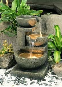 Fontaine De Jardin Pas Cher : une fontaine de jardin design quelques id es en photos ~ Carolinahurricanesstore.com Idées de Décoration