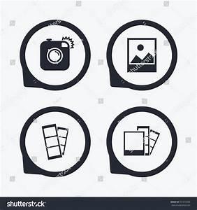Hipster photo camera icon flash light stock vector