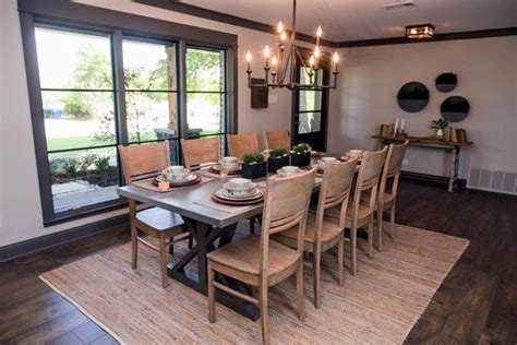 41271 fixer dining room rugs simple ways to copy joanna gaines decorating tips from