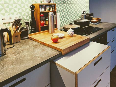 Küche Betonarbeitsplatte Neubauendesign