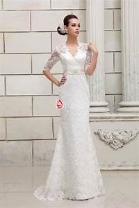 half sleeves keyhole back v neck designer lace wedding With v neck wedding dress with sleeves