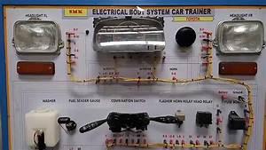 Electrical Body System Car Trainer Atau Simulasi