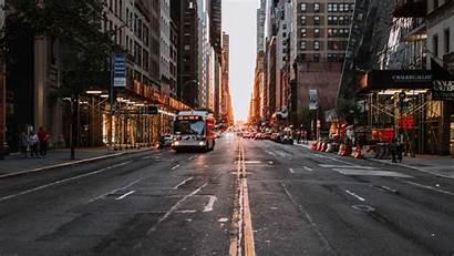 Urban Street Road Transport Background Asphalt 1080p