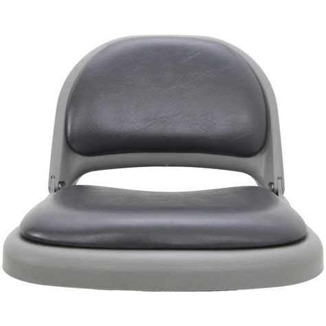 clam chair fishing seat clam deluxe vinyl seat cushions 209931 fishing