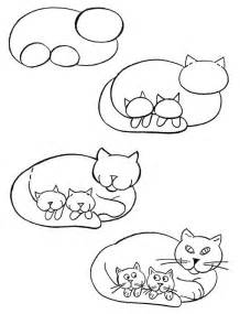 how to draw a cat how to draw pets