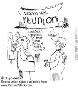 Image result for old people at high school reunion