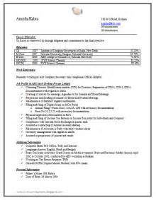 Free Resume Templates Doc 10000 Cv And Resume Sles With Free Company Resume Sle Doc