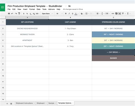 shooting schedule template production shooting schedule template