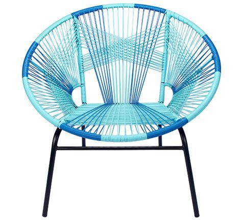 fauteuil de jardin tulum fil bleu 169 salon d 233 t 233