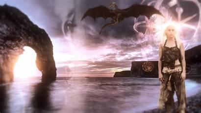 Dragons Mother Daenerys Thrones Dragon Targaryen Wallpapersafari