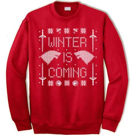 winter is coming sweater winter is coming sweater gadgets