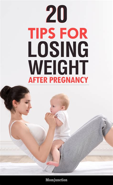 20 simple useful tips for losing weight after pregnancy