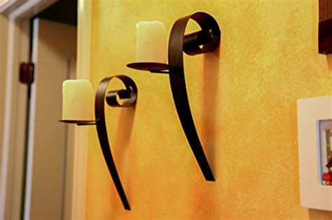 Lily Home Decor Wall Lamps Sconces Modern Art Candle