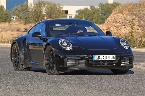 new porsche 911 new 2019 porsche 911 turbo spied for the first time auto