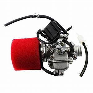 Goofit Pd24j Carburetor With Air Filter For Gy6