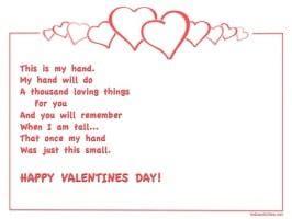 Free Printable Valentine Poem