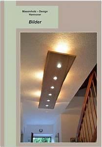 Lampe Küche Decke : deckenlampen massiv holz design decken lampe ein designerst ck von massivholzdesignhannover ~ One.caynefoto.club Haus und Dekorationen