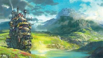 Moving Castle Howl Background 1080p Howls Pc