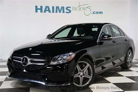 2015 C300 4matic Review by 2015 Used Mercedes C Class 4dr Sedan C300 4matic At