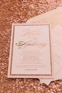 real wedding katie and anthony fancy rose gold foil and With rose gold foil wedding invitations australia