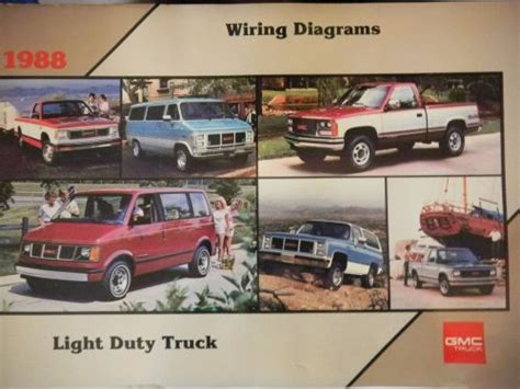 Find Gmc Light Duty Truck Wiring Diagrams Motorcycle