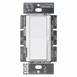 Lutron U00ae Dv-600ph-wh