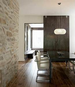 Le mur de pierre interieur 25 idees de design original a for Mur en pierre interieur design