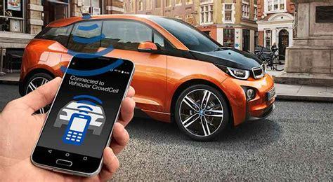 bmw vehicular crowdcell tecnologia  autos