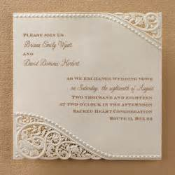 lace wedding invitations laser cut vintage lace wedding invitations flamingo
