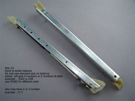 bal  sash balance types aa window parts hardware