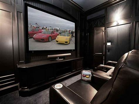 How To Decorating Home Theater Rooms
