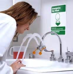 supplemental eye wash stations from research supply corporation