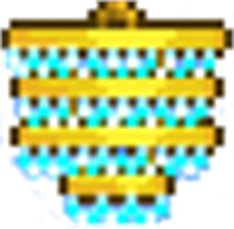 Terraria How To Make A Chandelier by Golden Chandelier Terraria Wiki