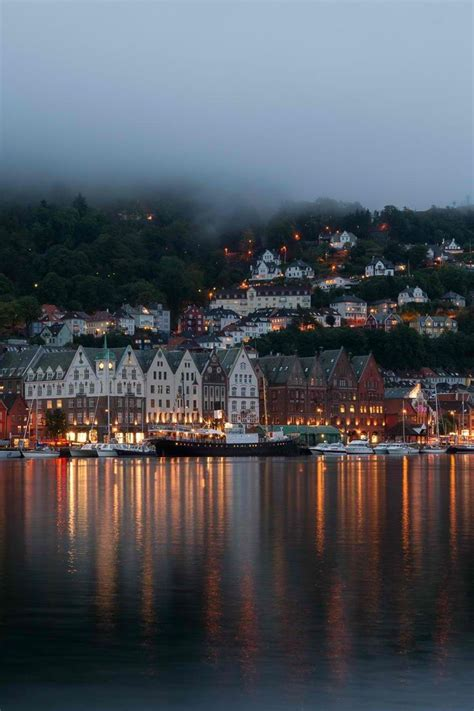Bergen Norway Wanderlust Pinterest