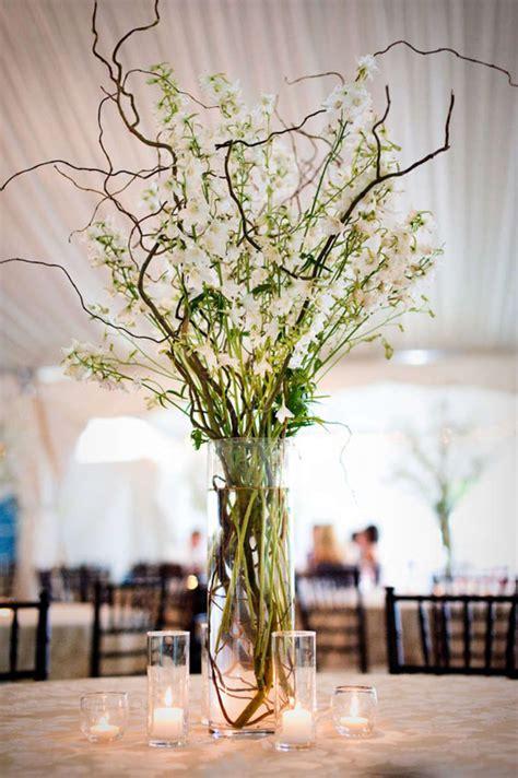 branch wedding centerpieces  pinterest