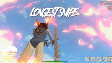 longest snipe  strucid  fortnite roblox youtube