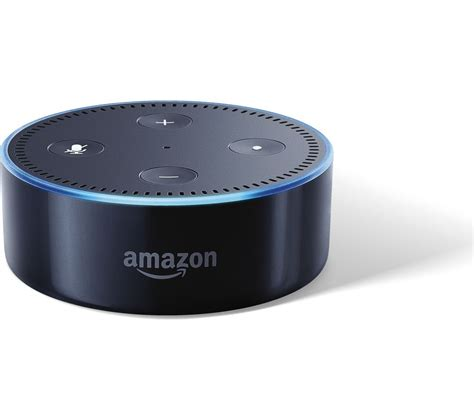 buy amazon echo dot black  delivery currys