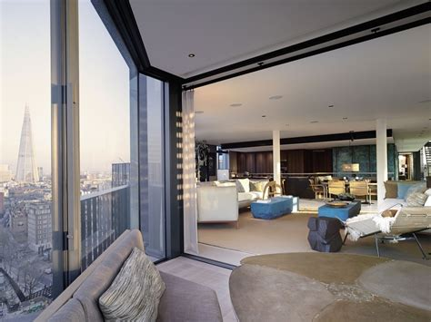Luxurious Yet Liveable Penthouse by Fantastic Penthouse Crowns A Luxury Complex