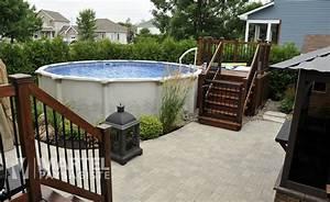 attrayant amenagement paysager avec piscine creusee 0 With amenagement jardin avec pierres 10 amenagement paysager piscine creusee amenagement spa