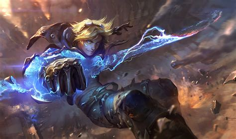 League Of Legends, Ezreal, Marksman, Attack Damage Carry