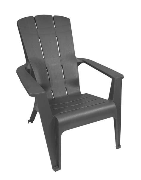 gracious living contour adirondack chair grey the home