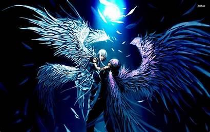 Demon Angel Anime Background Desktop Lovers